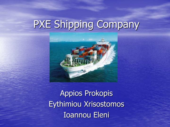 pxe shipping company n.