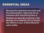 essential ideas1