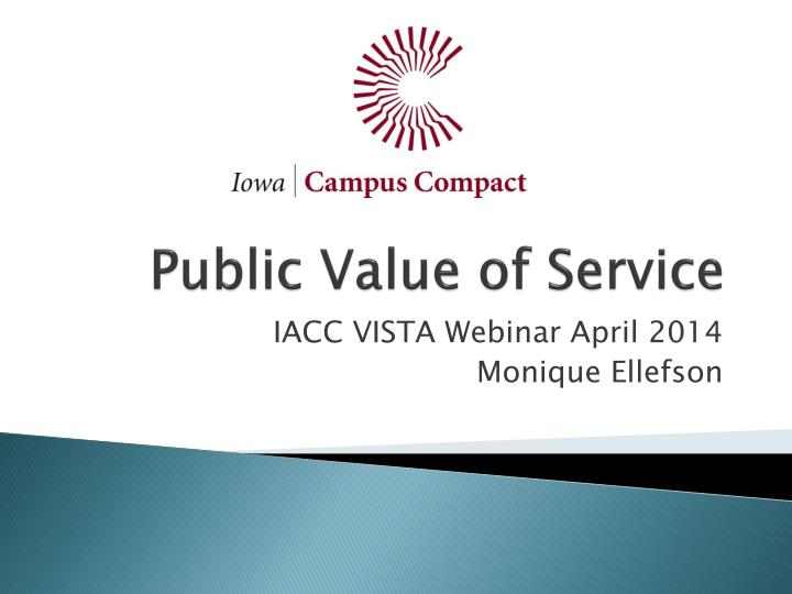 public value of service n.