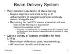 beam delivery system