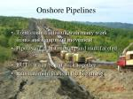 onshore pipelines1