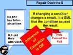repair doctrine 5