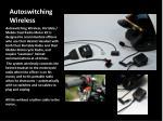 autoswitching wireless