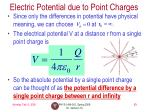 electric potential due to point charges1