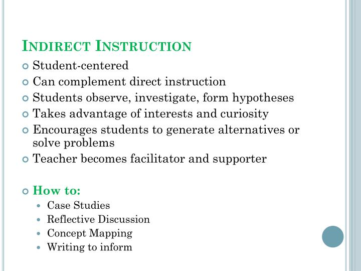 Ppt Instructional Strategies Powerpoint Presentation Id6858838