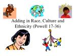 adding in race culture and ethnicity powell 17 36