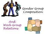 gender group composition