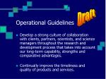 operational guidelines1