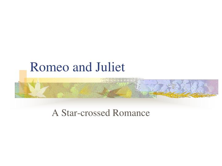 romeo and juliet n.