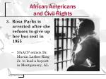 african americans and civil rights1