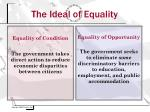 the ideal of equality1
