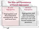 the rise and persistence of racial oppression3