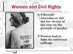 women and civil rights
