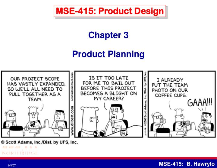 mse 415 product design n.