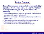 project planning1