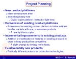 project planning3