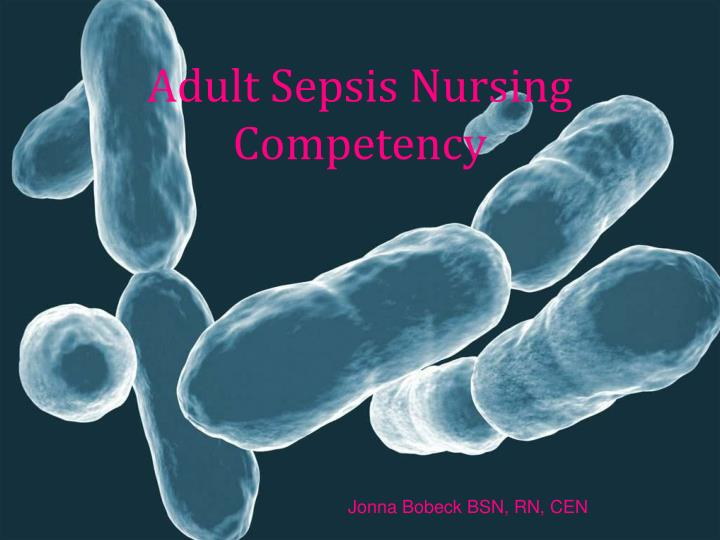 adult sepsis nursing competency n.