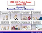 mse 415 product design lecture 14