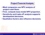 project financial analysis