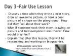 day 3 fair use lesson