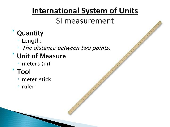 international system of units si measurement n.