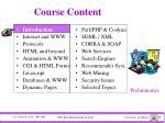 course content1