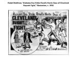 ralph matthew alabama bus strike recalls hectic days of cleveland boycott fight illustration c 1956