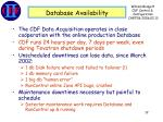 database availability