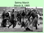 selma march march 9 1965