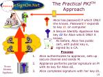 the practical pki tm approach