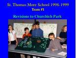 st thomas more school 1998 1999 team 1