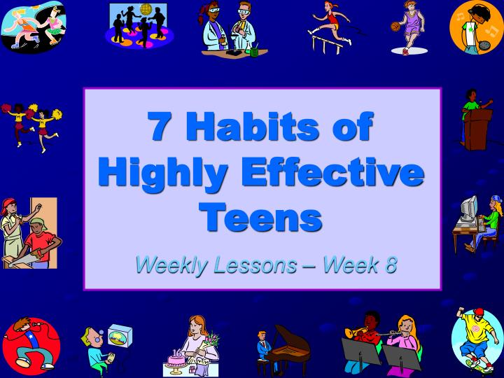 7 habits of highly effective teens n.
