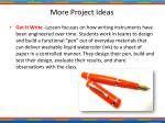 more project ideas1