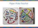 paper plate teacher