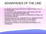 advantages of the line
