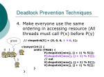 deadlock prevention techniques29