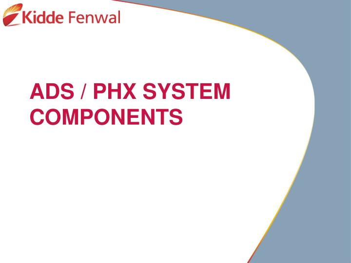 ads phx system components n.
