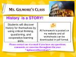 ms gilmore s class
