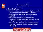 reserves in pjm1