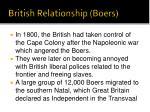 british relationship boers