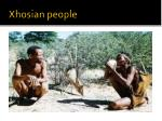 xhosian people
