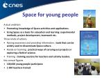 space for young people