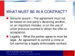 what must be in a contract2
