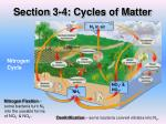 section 3 4 cycles of matter2