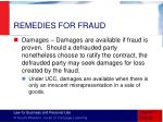 remedies for fraud1