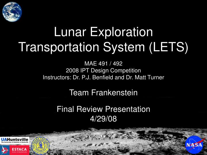 lunar exploration transportation system lets n.