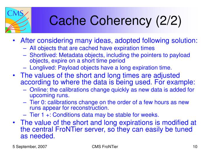 Cache Coherency (2/2)