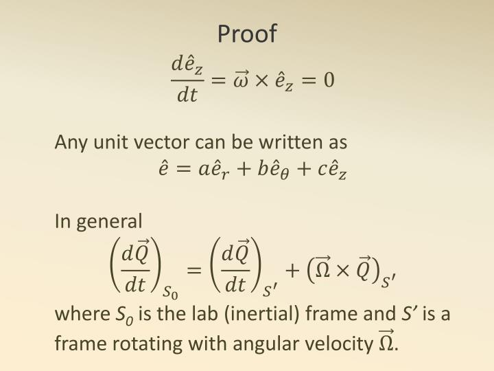 Any unit vector can be written as