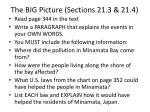 the big picture sections 21 3 21 4