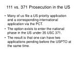 111 vs 371 prosecution in the us1